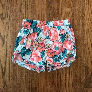 Gap Flower Print Shorts